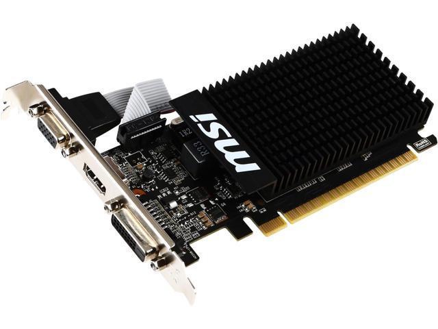 Видеокарта MSI GT 710 2Gb (GT 710 2GD3H LP) - изображение 1