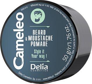 Помадка для бороди та вусів Delia Cosmetics Cameleo 50 г (5901350470909) - зображення 1