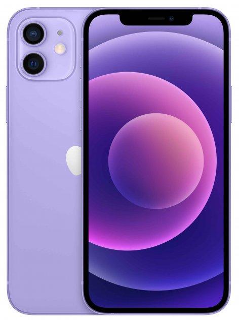 Мобильный телефон Apple iPhone 12 256GB Purple Официальная гарантия - изображение 1