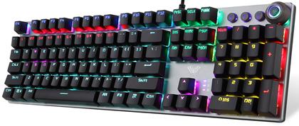 Клавиатура проводная Aula Fireshock V2 Mechanical Wired Keyboard EN/RU/UA - изображение 1
