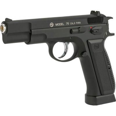 Пневматичний пістолет ASG CZ 75 Blowback, 4,5 мм (17619) - зображення 1