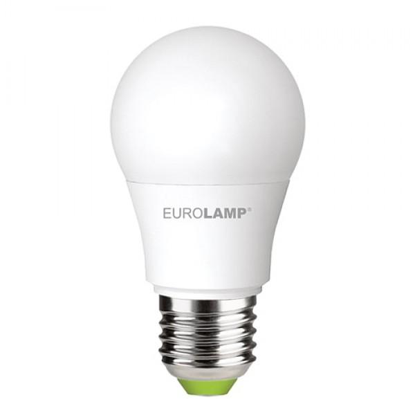 Довговічна світлодіодна енергоефективна лампа EUROLAMP LED A50 7W E27 матовий 4000K ЕКО (1000000559) - зображення 1