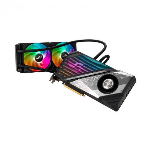 Видеокарта Asus AMD Radeon RX 6900 XT 16GB GDDR6 ROG Strix Gaming OC (ROG-STRIX-LC-RX6900XT-O16G-GAMING) - изображение 1