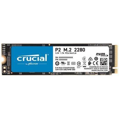 Накопичувач SSD M. 2 2280 500GB MICRON (CT500P2SSD8) - зображення 1