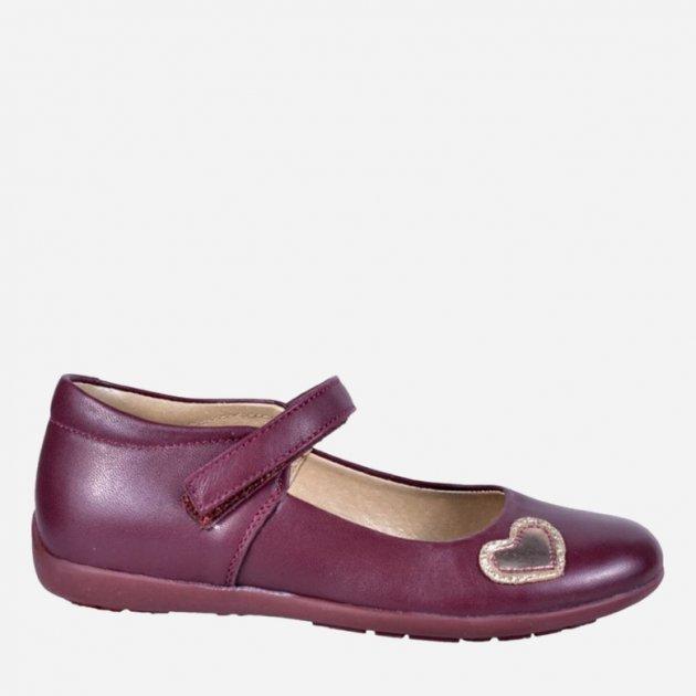 Туфлі шкіряні Irbis 700 31 (20.2 см) Червоні - зображення 1