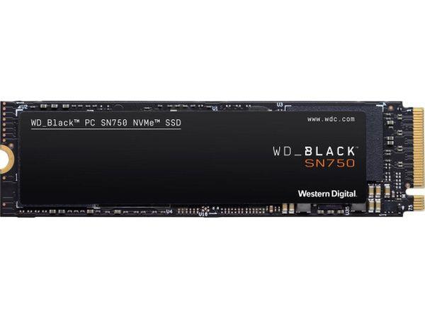 SSD Western Digital WD BLACK SN750 500GB WDS500G3X0C M. 2 NVMe PCIe 3.0 x4 - зображення 1