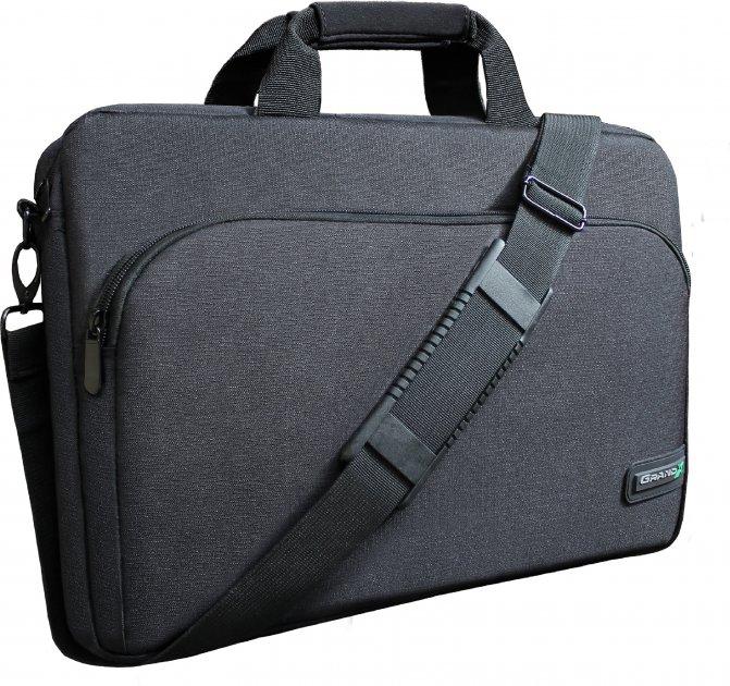 """Сумка для ноутбука Grand-X 15.6"""" Black (SB-129) - зображення 1"""