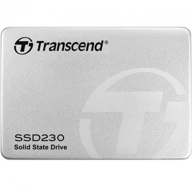 """Накопичувач SSD 512GB Transcend SSD230S Premium 2.5"""" SATA III 3D-V-NAND TLC (TS512GSSD230S) - зображення 1"""