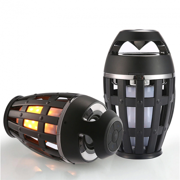 Портативная колонка Flame Atmosphere Lamp Wireless Speaker i3C V3.5 - изображение 1
