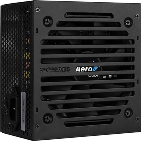Блок живлення AEROCOOL VX PLUS 400 400W v.2.3 Fan12см 78+ max Brown box - зображення 1