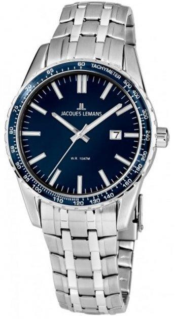 Чоловічі наручні годинники Jacques Lemans 1-2022I - зображення 1