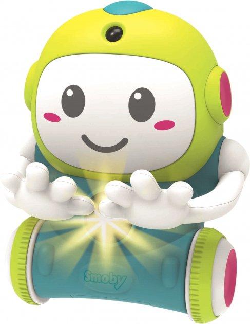 Интерактивная игрушка Smoby Toys Смоби Смарт Робот 1-2-3 со звуковыми и световыми эффектами (190101WEB)
