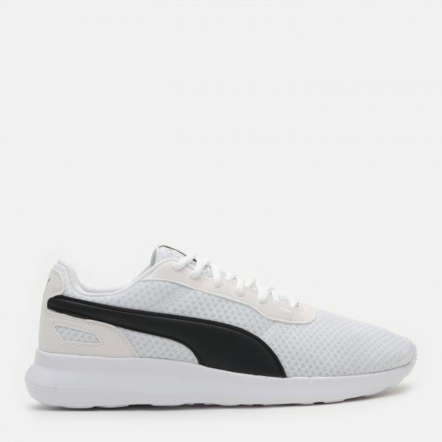 Кроссовки Puma St Activate 36912221 44.5 (10) 29 см White-Black (4063697781795)