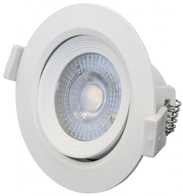 Світильник точковий Bemko ALIS LED 6 Вт 4000 K 520 Лм IP40 круглий поворотний (C70-DLA-AR-064-WH) - зображення 1