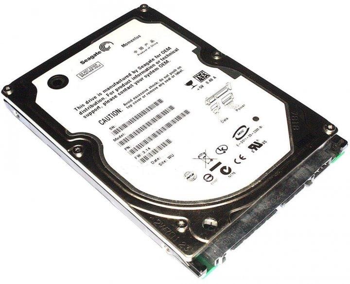 Жорстку диск Seagate SATA 750Gb 9mm 5400rpm 8mb (ST750LM022) Refurbished Mint - зображення 1