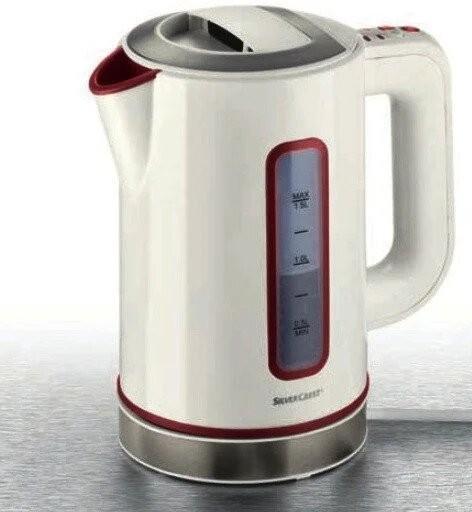 Електрочайник з температурним регулятором Silver Crest SWKD 3000 A1 - зображення 1