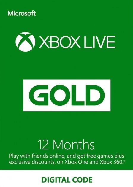 Xbox Live Gold - 12 месяцев Xbox 360/ One/Series подписка для всех регионов и стран - изображение 1