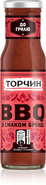 Соус ТОРЧИН BBQ зі смаком бренді 230 г (7613039182390) - зображення 1