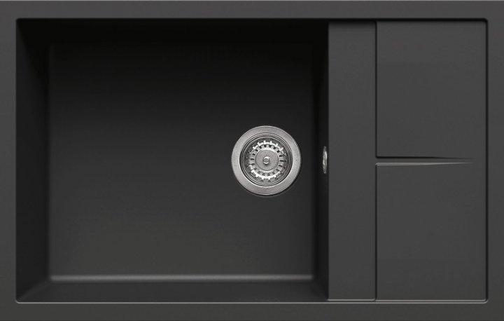 Кухонная мойка ELLECI Unico 310 Nero 40 - изображение 1