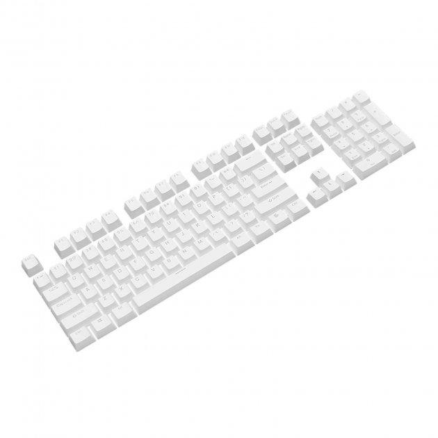 Набор кейкапов PBT ANSI / ISO ENG White (KC-001) - изображение 1
