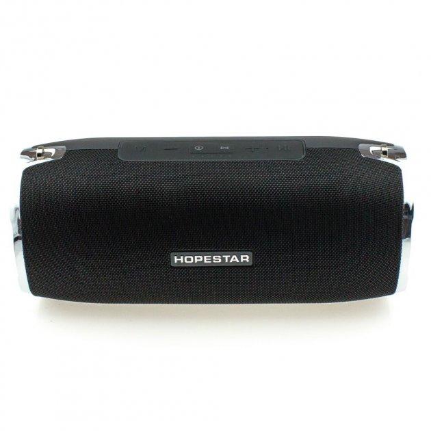 Мощная портативная bluetooth колонка Sound System A6 Pro Original Hopestar 35 ВТ Черная (512) - изображение 1