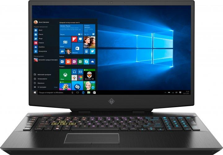 Ноутбук HP Omen 17-cb1000ua (423R5EA) Shadow Black - зображення 1