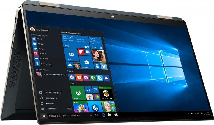 Ноутбук HP Spectre x360 Convertible 13-aw2016ur (37B46EA) Poseidon Blue - зображення 1