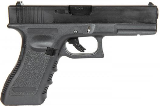 Пневматический пистолет East & Crane Glock 17 EC-1101 Black (19371) - изображение 1
