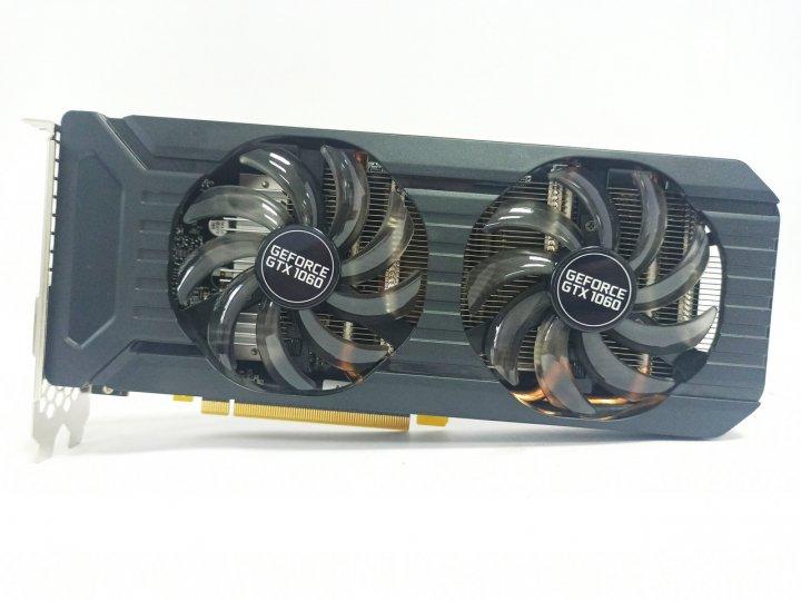 Відеокарта Palit Dual GTX 1060 (6GB/GDDR5/192bit) NE51060015F9-1061D БУ - зображення 1