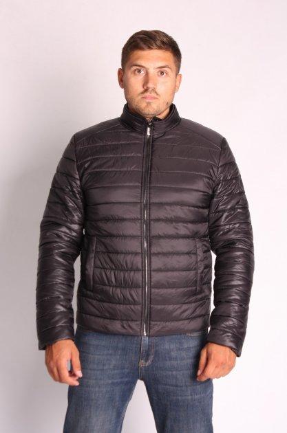 Куртка ZIBSTUDIO полоса комбинированная 6XL Чёрная (6157374) - изображение 1