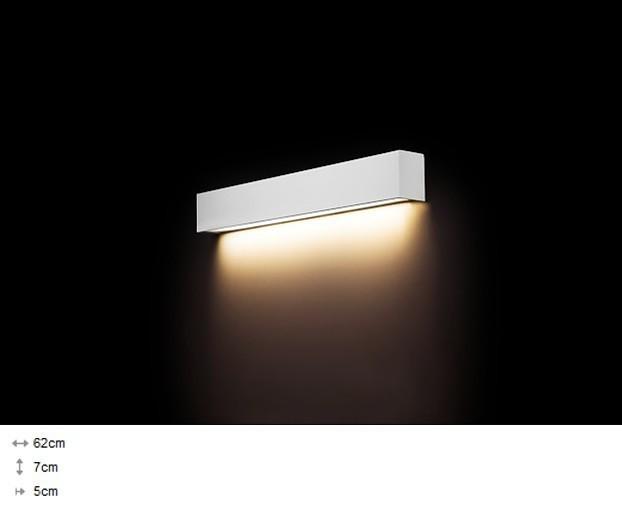 Світильник настінний Nowodvorski STRAIGHT LED 11W S 9610 білий - зображення 1