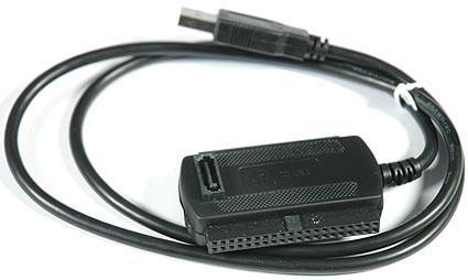 Кабель адаптер USB 3в1 конвертер для SATA IDE HDD - изображение 1
