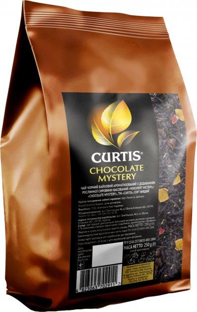 Чай Curtis черный крупнолистовой Chocolate Mystery со вкусом трюфеля 250 г (4823063702911) - изображение 1