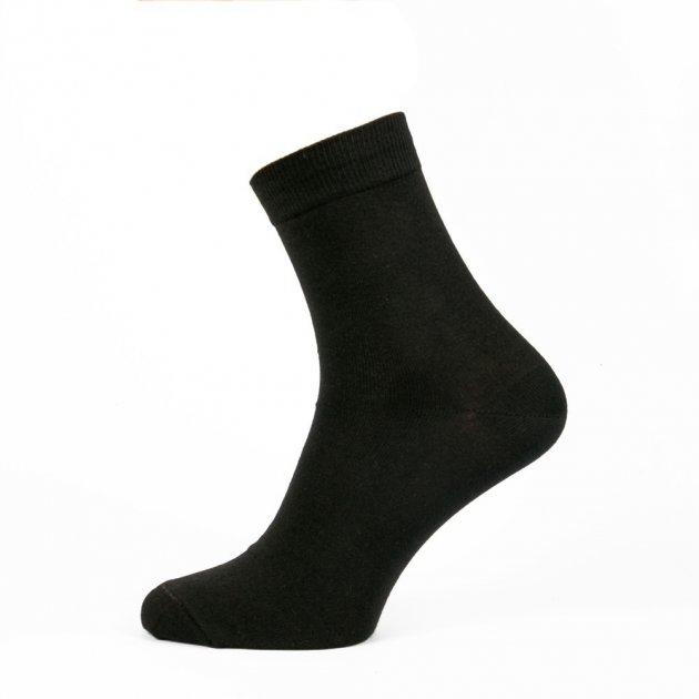 Носки мужские GoSocks махровые 39-41р. (12 пар) средняя высота черные 2051-348 - изображение 1