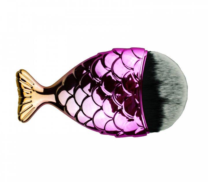 Кисть для видалення пилу рибка NN золотистий - зображення 1