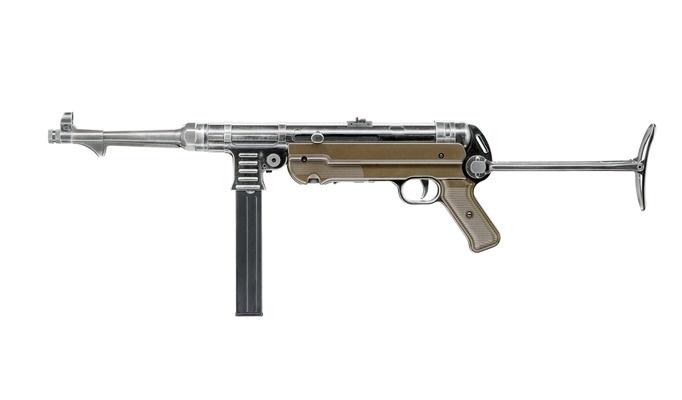 Пістолет пневматичний Umarex Legends MP German Legacy Edition (5.8325) - зображення 1