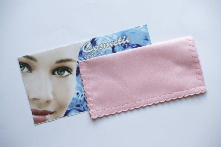 Серветка Miracle Косметика 20х20см рожева - зображення 1