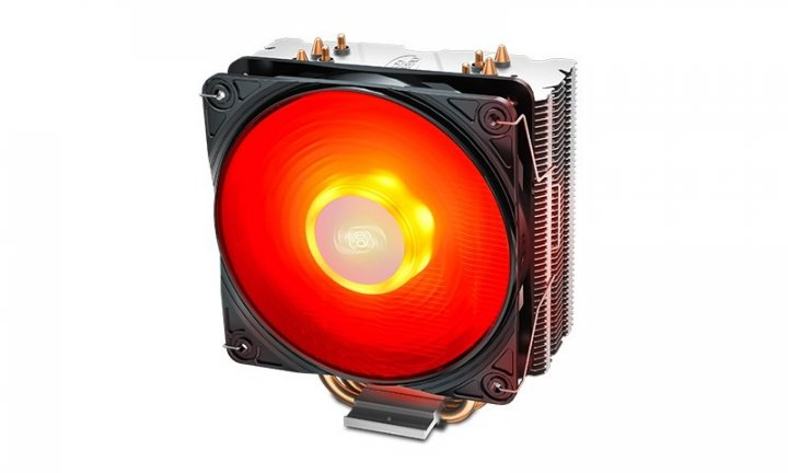 Кулер для процесора DeepCool Gammaxx 400 V2 Red - зображення 1