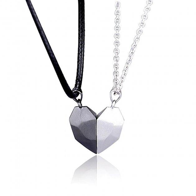 Кулони для закоханих з магнітом COUPLE NECKLACE - зображення 1