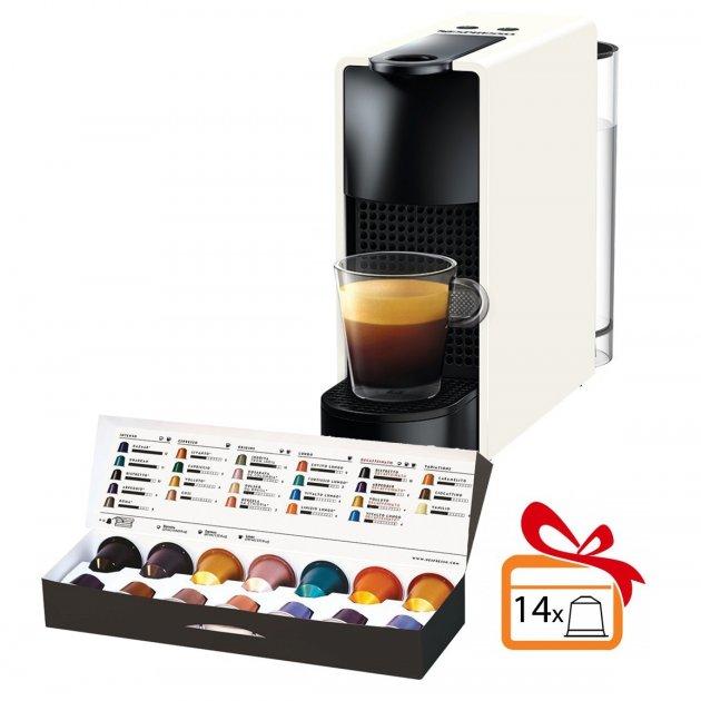 Капсульная кофемашина Nespresso Essenza Mini C30 PURE WHITE белая - изображение 1