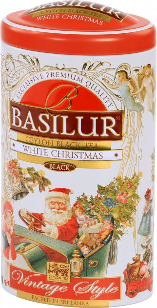 Чай чорний Basilur Вінтаж Сніжне Різдво 100 г (4792252935303) - зображення 1