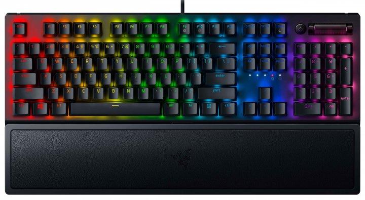 Клавіатура дротова Razer BlackWidow V3 Razer Green Switch USB Black RU (RZ03-03540800-R3R1) - зображення 1