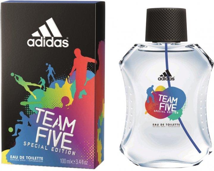 Туалетная вода для мужчин Adidas Team Five 100 мл (3607346551035) - изображение 1