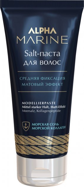Salt-паста для волосся Estel Professional Alpha Marine з матовим ефектом 100 мл (4606453067179) - зображення 1
