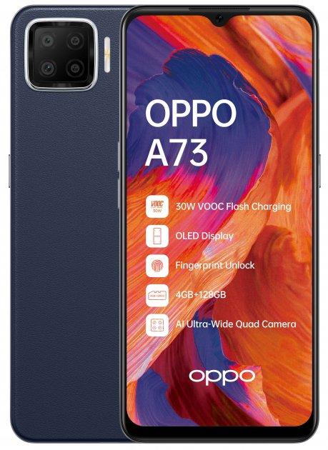 Мобільний телефон OPPO A73 4/128 GB Navy Blue - зображення 1