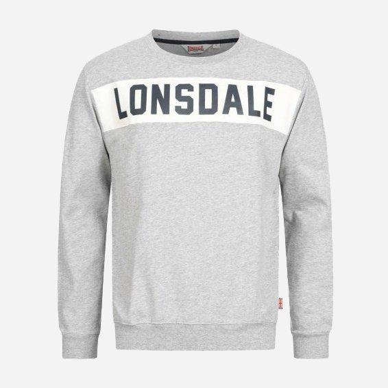 Свитшот Lonsdale HETHERSETT 115016-1004 XL Marl Grey (4251522336979) - изображение 1