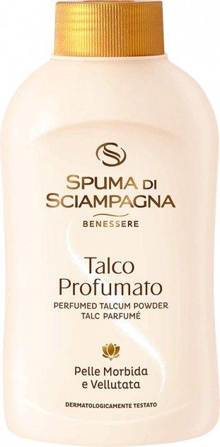 Парфюмированный тальк Spuma Di Sciampagna 200 г (8007750001709) - изображение 1