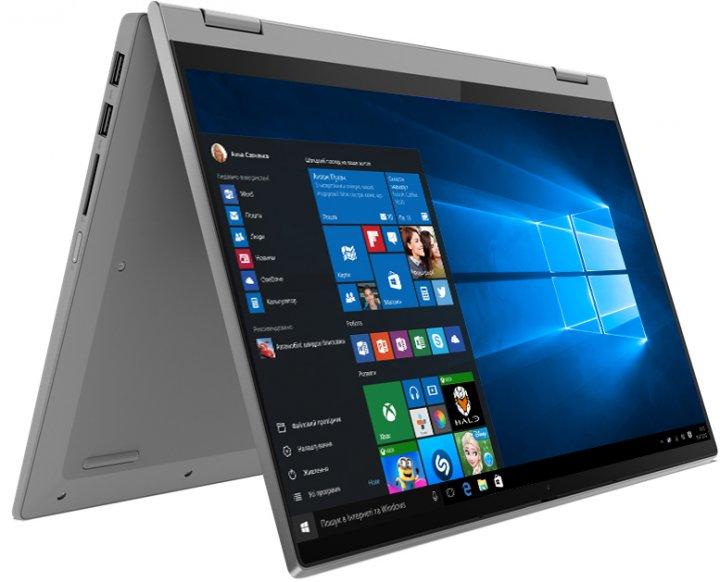 Ноутбук Lenovo IdeaPad Flex 5 14IIL05 (81X100NRRA) Platinum Grey - зображення 1
