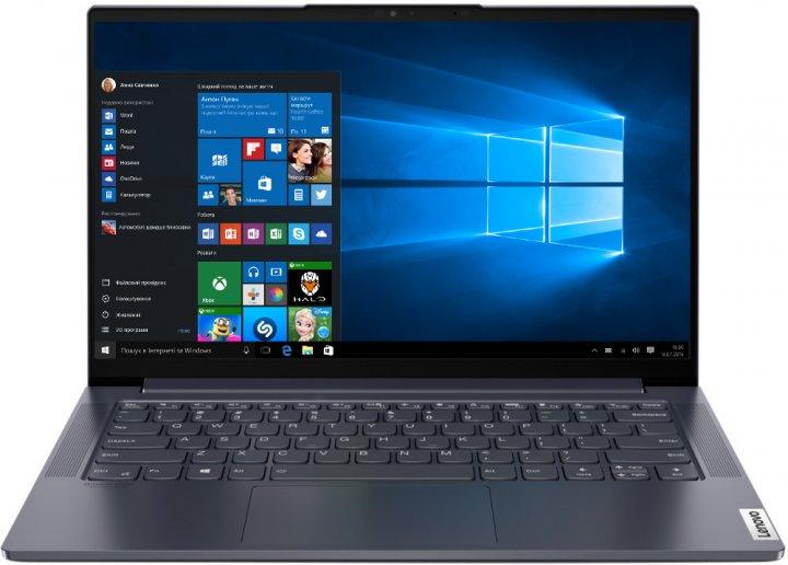 Ноутбук Lenovo Yoga Slim 7 14IIL05 (82A100HRRA) Slate Grey - зображення 1