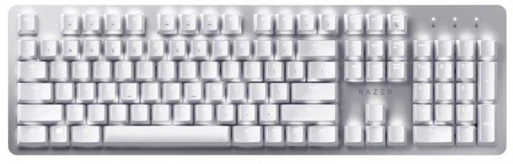 Клавиатура беспроводная Razer Pro Type Razer Orange Switch ENG USB/Bluetooth White/Silver (RZ03-03070100-R3M1) - изображение 1